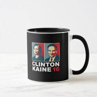 Clinton Kaine 16 - Posterized -- Caneca