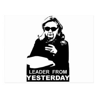 Clinton: Líder de ontem Cartão Postal