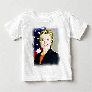 Clinton-Presidente de Hillary de USA_ Camiseta Para Bebê