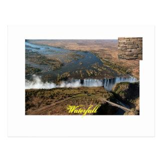 clip_image001, Chardonnay 20006, cachoeira Cartão Postal