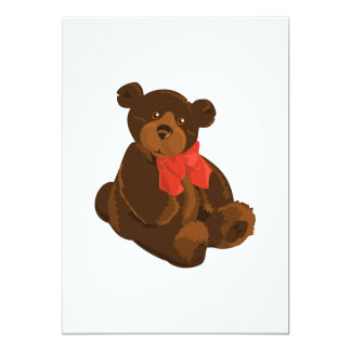 Clipart do urso de ursinho convites personalizado
