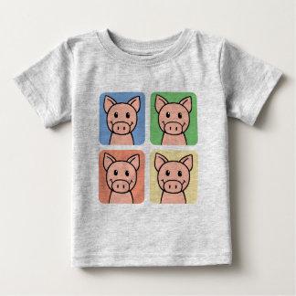 Clipart dos desenhos animados que ri porcos tshirts