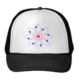 clipart modelo do vetor do átomo boné