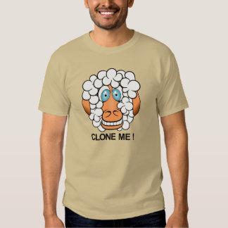 clone-me! carneiros engraçados dos desenhos camiseta