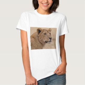 Close up principal da leoa t-shirt