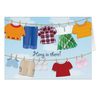 Clothesline - cartão