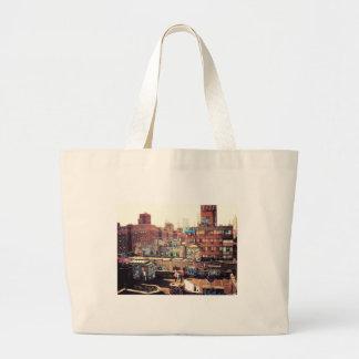 Clotheslines e grafites bolsas para compras