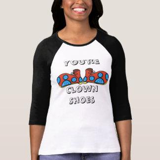 ClownShoes, você é, os calçados do palhaço - T-shirts