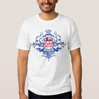 Clube bastardo mau dos meninos t-shirts