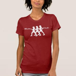 Clube da caminhada camiseta
