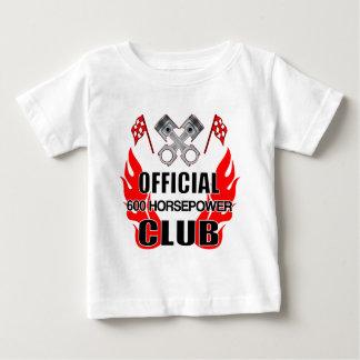 Clube de HP do oficial 600 Camiseta Para Bebê