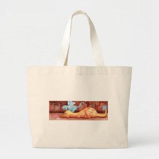 Clube de leitura bolsas de lona