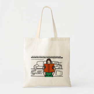 Clube de leitura sacola tote budget