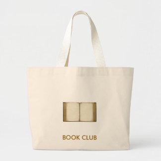 Clube de leitura sacola tote jumbo