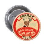 Clube do bolo de Obama Botons
