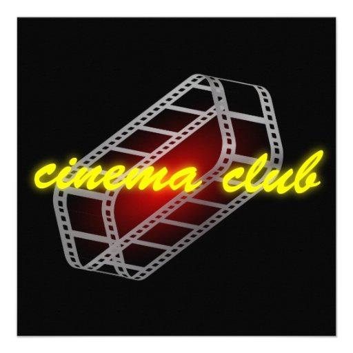 Clube do cinema convites