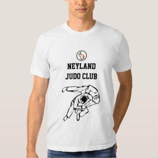Clube do judo de Neyland que treina a camisa de T Tshirts