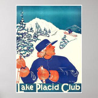 Clube do Lake Placid, poster do esqui