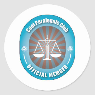Clube legal dos Paralegals Adesivo