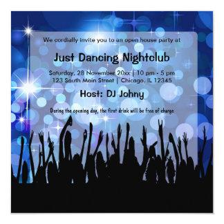 Clube nocturno da grande inauguração convites personalizado