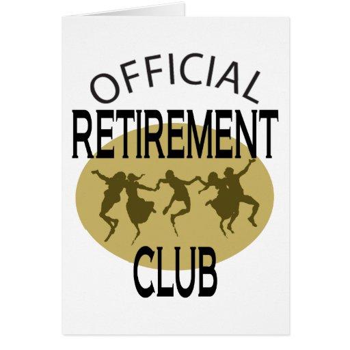 Clube oficial da aposentadoria cartões