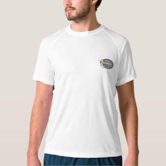 Clube que surfa o logotipo retro havaiano camiseta