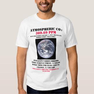 CO2 atmosférico Tshirt
