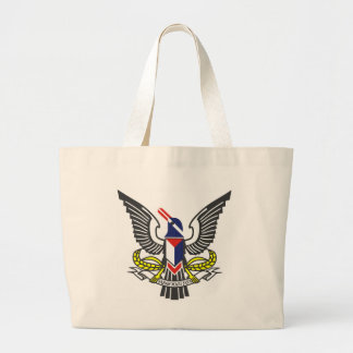 Coat_of_arms_of_the_Federated_Malay_States (2) Bolsa Tote Grande