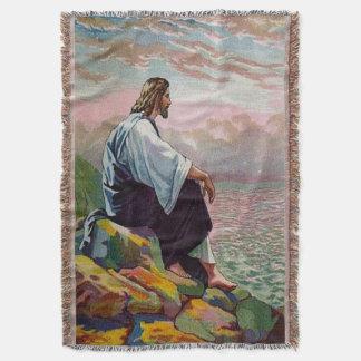 Cobertor 14:22 de Matthew - 23 Jesus Prays só pelo mar