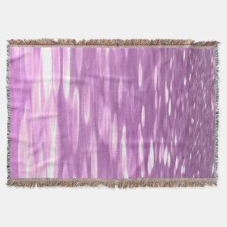 Cobertor #3 abstrato: Shimmer do Lilac
