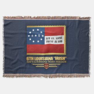 "Cobertor 6o Infantaria ""irlandesa"" de Louisiana"