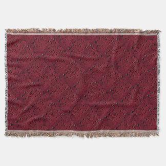 Cobertor A alienígena borbulha textura do Bordéus