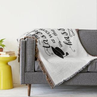 Cobertor A borla vale a trabalheira