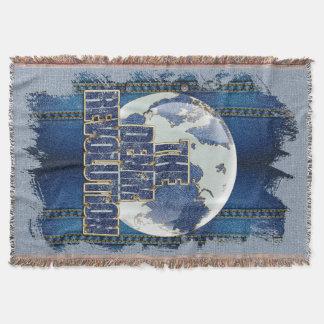 Cobertor A revolução da sarja de Nimes
