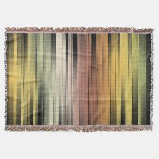 Cobertor Abstrato das cores do outono