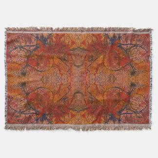 Cobertor Aflame com a cobertura Textured HotWaxed da arte