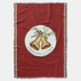 Cobertor Aguarela do Natal | - visco & Bels do azevinho