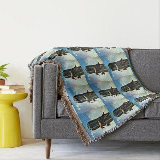 Cobertor Arborizado na cobertura feita sob encomenda do