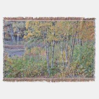 Cobertor Árvores de vidoeiro