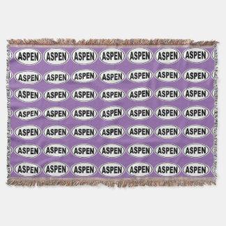 Cobertor Aspen Colorado