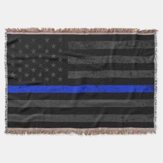 Cobertor Bandeira americana afligida obscuridade do estilo