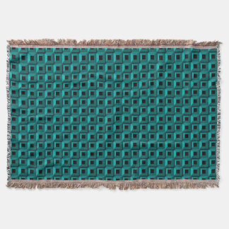 Cobertor Barnacles na cobertura do lance de turquesa