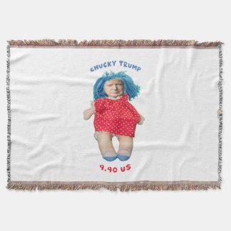 Cobertor Boneca de Chucky Donald Trump