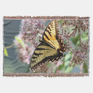 Cobertor Borboleta amarela do swallowtail