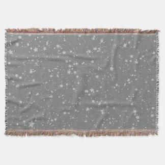 Cobertor Brilho Stars4 - Prata