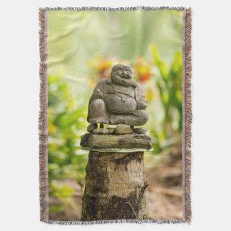 Cobertor Buddha feliz