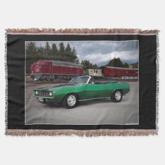 Cobertor Carro 1969 clássico convertível de Chevy Camaro