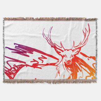 Cobertor Caverna do homem do caçador dos cervos