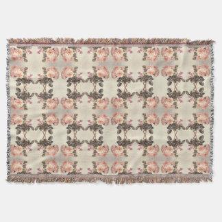 Cobertor Cobertura cor-de-rosa do lance das abelhas das