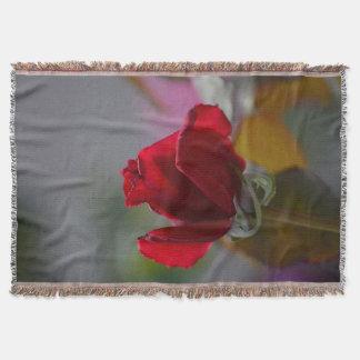Cobertor Cobertura da rosa vermelha